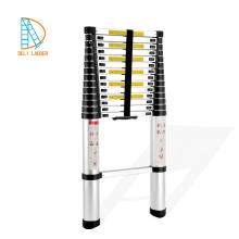 2.6M 8 steps aluminium collapsible ladder EN131-6