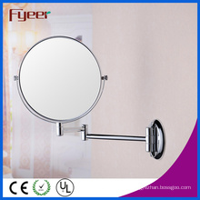 Fyeer High Quality Round Foldable Wall Mounted Cosmeitc Wall Mirror