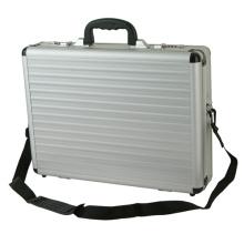 Maletín de aluminio personalizado Maletín portátil de plata