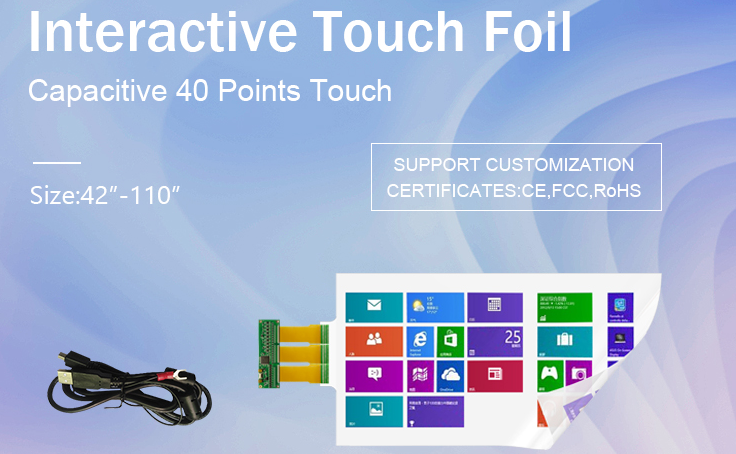 Capacitive Touch Foil With Technology