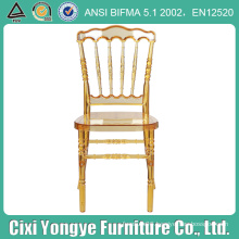 High Quility Plastic Napoleon Chair with Soft Cushion