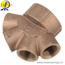 Корпус переключающего клапана из высококачественной латуни и бронзы