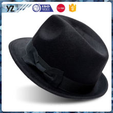 New and hot fine quality burgendy homburg hat with good offer