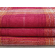100% Хлопчатобумажная пряжа окрашенная ткань Shirting