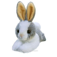 ICTI factory custom stuffed plush white rabbit toy