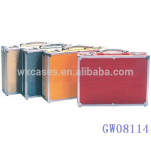 high quality portable aluminum travel suitcase with different color options manufacturer