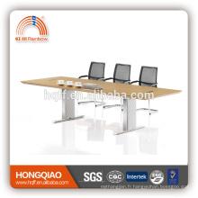 DT-08 table de réunion en bois 3m table de réunion table de réunion pour 8 personnes