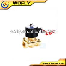 Baixo preço engrossar a bobina Electroválvula de água 12v elétrica pequena