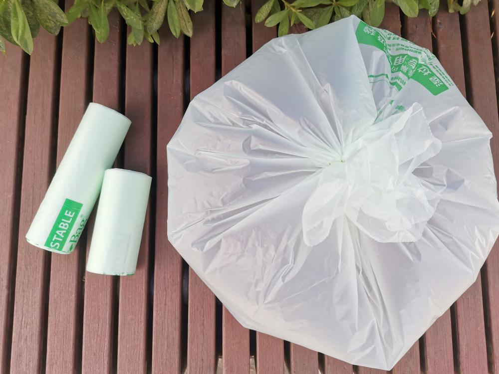 EN13432 Certified 100% Bio-degradable Compostable Waste Bags