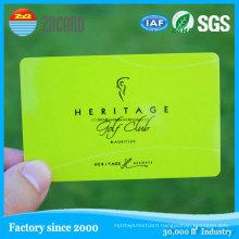 Factory Price Customized Printing Plastic Supermarket Membership Card