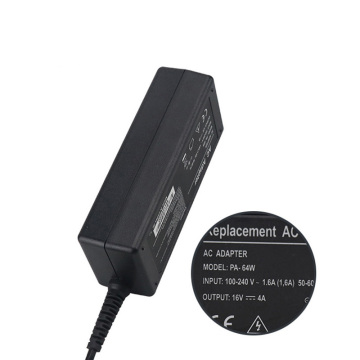 PA-64W 16V4A Sony Laptop Adaptor 6,5 * 4,4 mm Yellow Tip