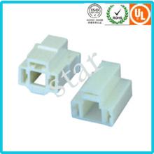 Personalizado 3 pinos conector branco luz DJ7036-7,8-21/11