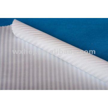 Preço baixo de algodão percal e tecido de linho de tecido customed