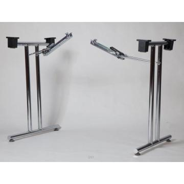 office desk frame with foldable