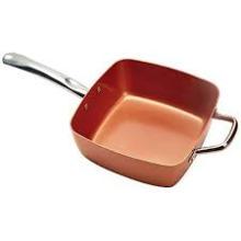 Non stick cooper cookware set