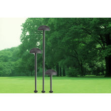 Lámpara de césped de jardín de alta energía solar