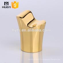 Fournisseur chinois de haute qualité zamac or bouchon de bouteille de parfum