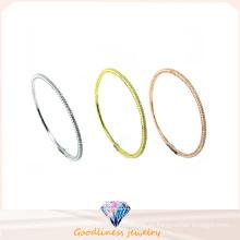 Venta al por mayor hermosa joyería 925 brazalete de plata (g41279)