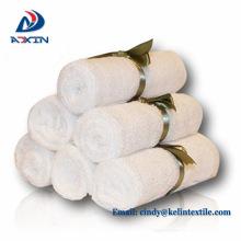 Textil inicio 75x75cm 100% algodón bordado logo toalla con capucha bebé