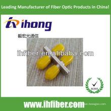 Adaptador de fibra óptica duplex ST
