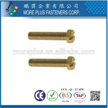 Hecho en Taiwán Alta calidad DIN84 Tornillo estándar M3 Ranurado Queso Cabeza Tornillos de la máquina