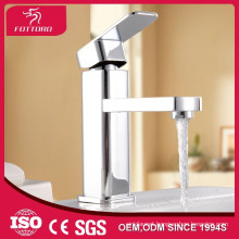 single handle basin facet modern square water saver