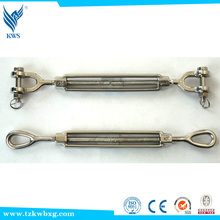 China Supplier European Type 316 stainless steel turnbuckle