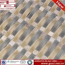 сделано в Китае смешанный камень кристалл стеклянная мозаика плитка для дома дизайн