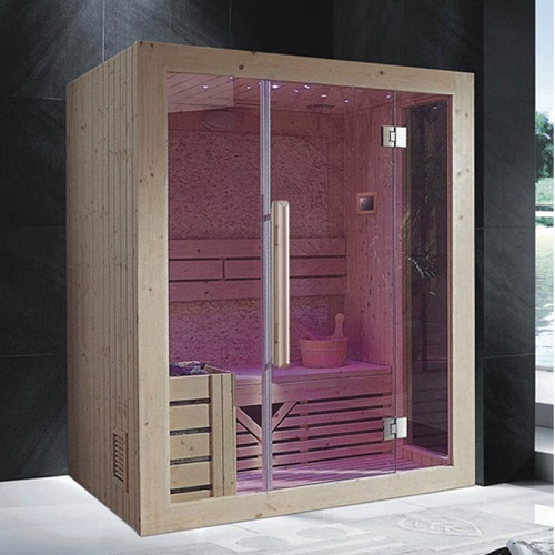 factory made sauna steam room