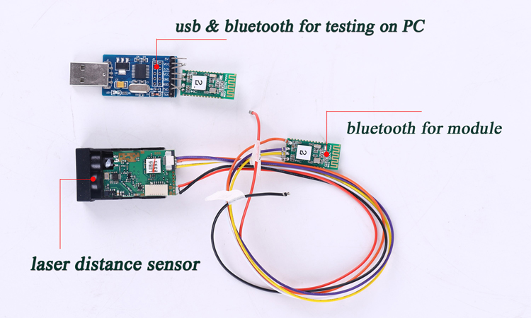 Bluetooth distance module Instructions