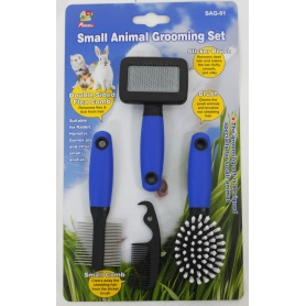 Percell Pequeno Animal Grooming Tool Set