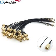 Antena de muestra gratuita Cable de extensión Ensamblaje coaxial SMA Bulkhead Pigtail RP Sma a U.fl