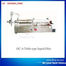 Tipo de tabla Líquido de relleno (Gc-a)