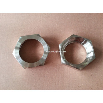 Keluli tahan karat Fitting Hex Union Nut