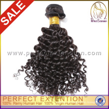 Ausgezeichnete Qualität 5a Klasse mongolischen verworrenes lockiges reines Haar
