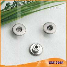 Bouton en métal, boutons personnalisés Jean BM1266