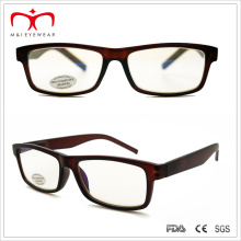 Men′s Anti-Reflective Computer Reader Glasses with Square Frame (WRP410298AR)
