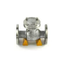 single disc flens media ball valve angkat air