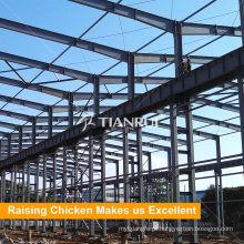 Projeto de estrutura de aço galpão de fazenda de aves de capoeira
