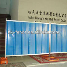 Painel provisório da cerca da açambarcamento da construção da cor azul da altura de 2.0m