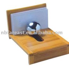 bamboo memo & name card holder