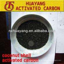 Jodzahl 950 mg / g Aktivkohle auf Kokosnussschalenbasis