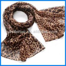Summer stone pattern screen printing scarf