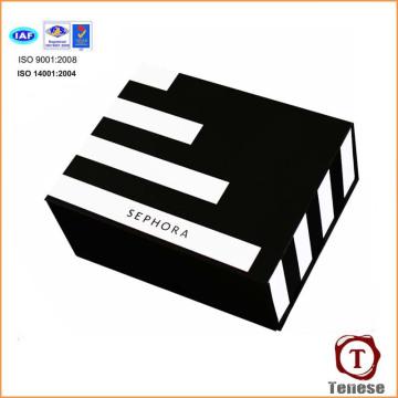 Caixa de presente de embalagem de cosméticos de papelão high end