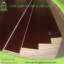 Ausgezeichnete Fertigung Produzieren 1220X2440X9-18mm Wasserdichte braune oder schwarze Farbe Pappel oder Hartholz Kern Film konfrontiert Sperrholz für den Bau