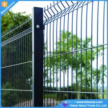 Pvc coaed la malla de alambre soldada con autógena galvanizada para la cerca ISO9001 del jardín)