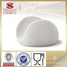Porcelain napkin holder, restaurant decoration