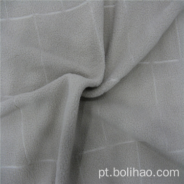 Tela anti-pilling do jacquard do velo