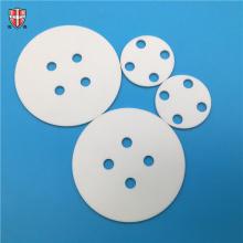 punching drilling aluminum oxide ceramic disc disk roundel