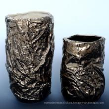 Galvanoplastia de cobre poco cerámica decoración del hogar (A1660)
